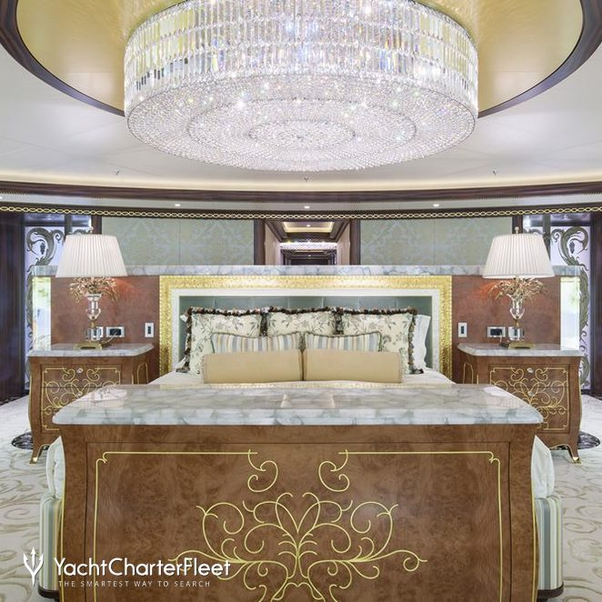 Master Suite And Chandelier