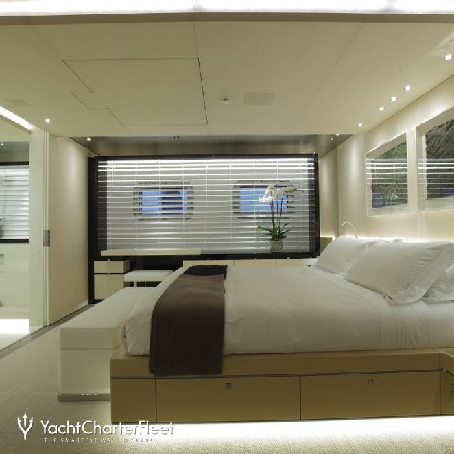 A Double Suite Complete With Recessed Lighting