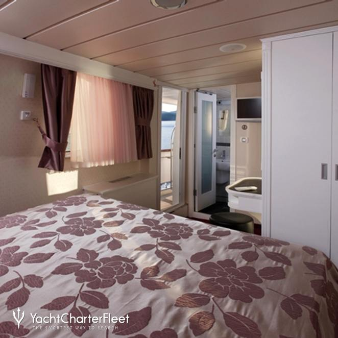 Guest Stateroom with Balcony View
