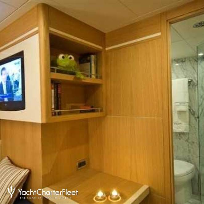 Stateroom & Shower Room