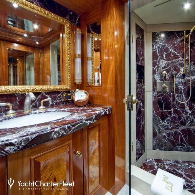 Blue Guest Bathroom