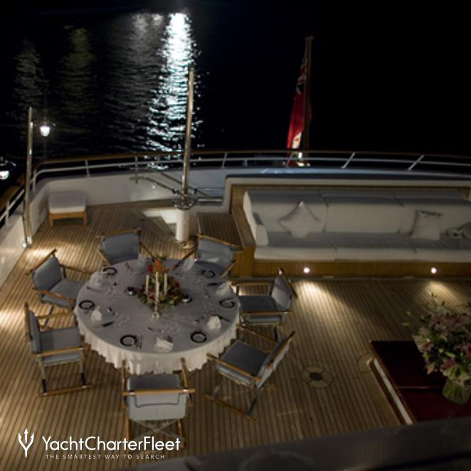Exterior Dining - Night
