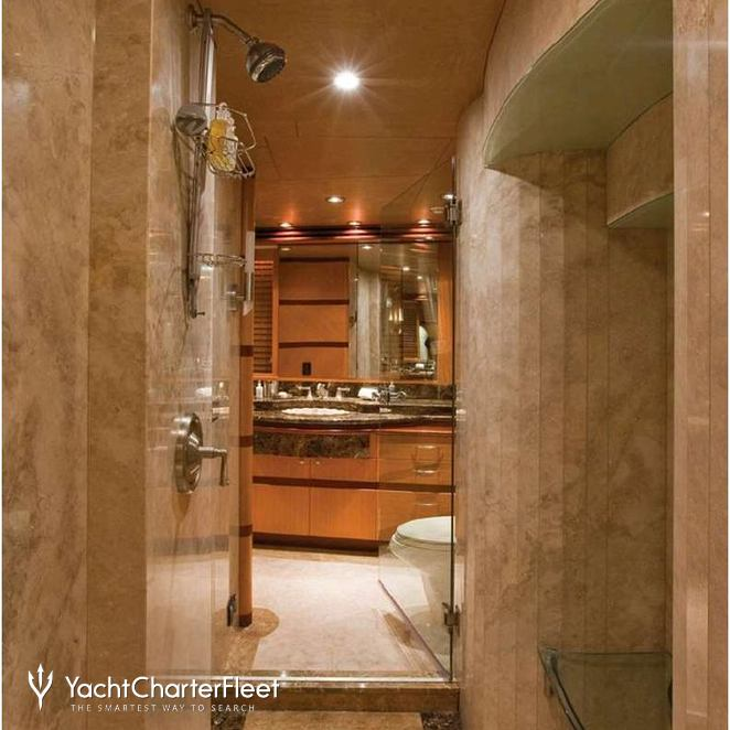 Master Stateroom into Bathroom