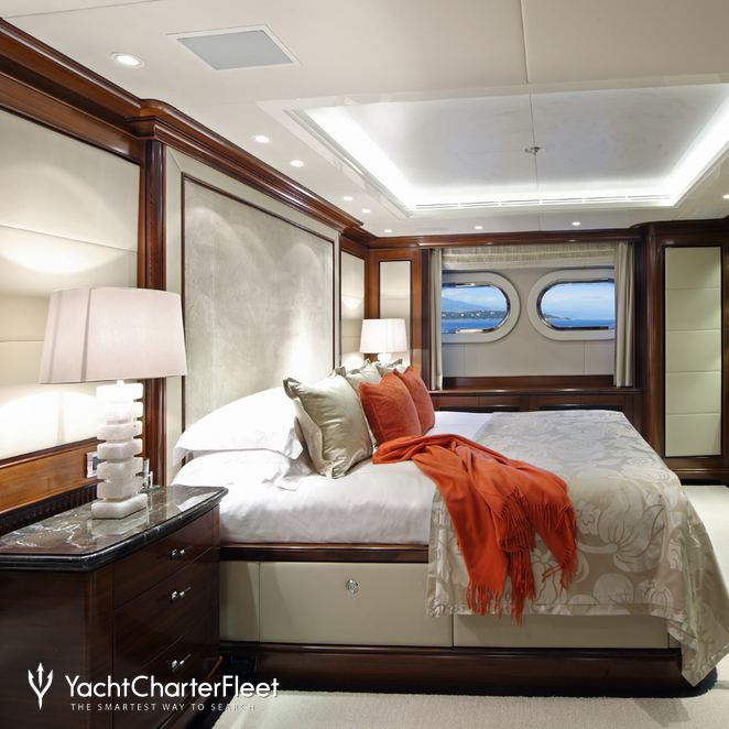 Red Guest Stateroom - Overview