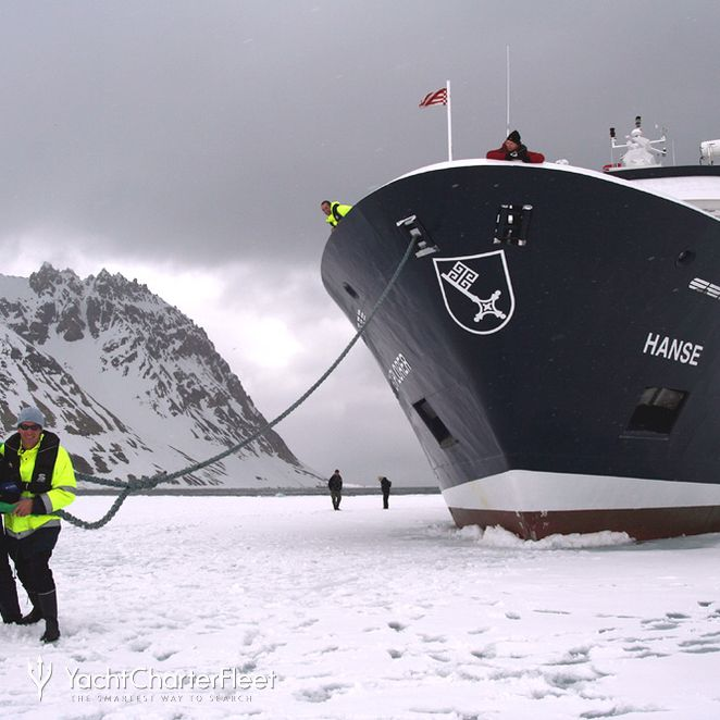 Moored in Ice