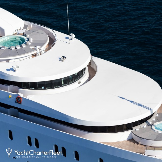 Owner's Private Deck & Jacuzzis on Sundeck
