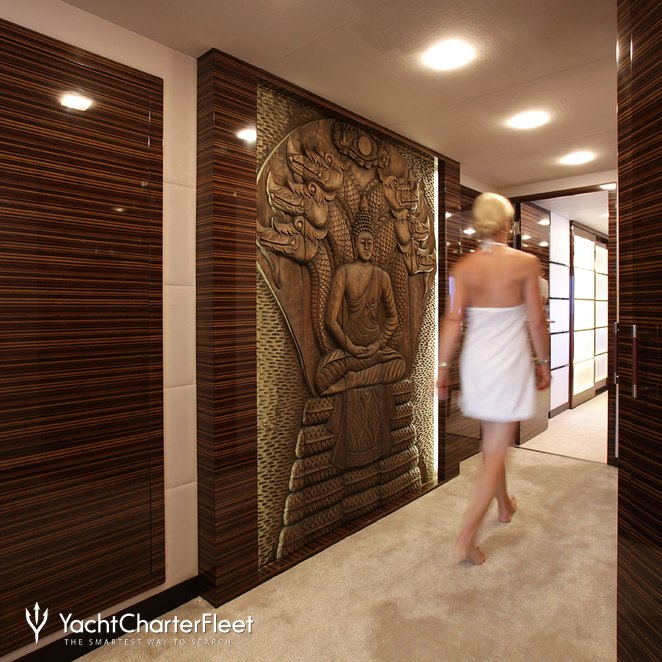 Master Stateroom Hallway