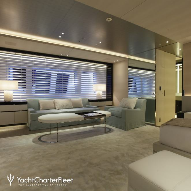 The Additional Seating Available In The Master Suite