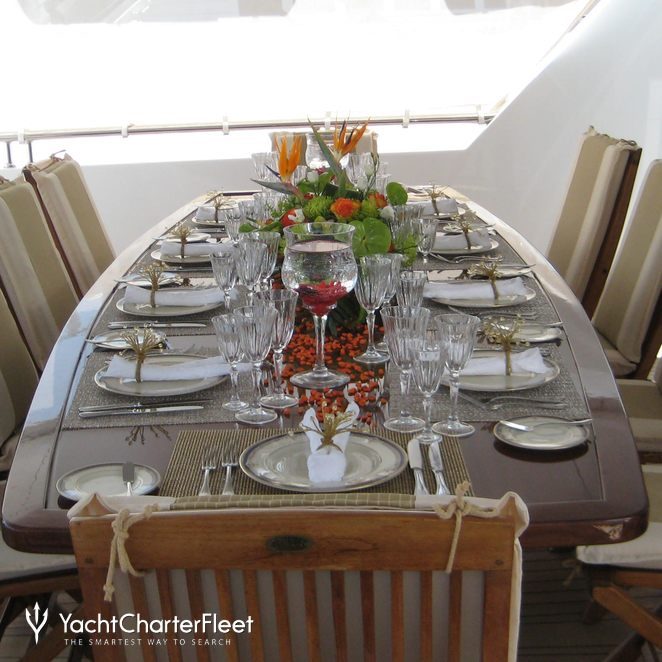 Exterior Dining Table