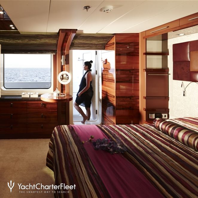 Guest Stateroom - Purple