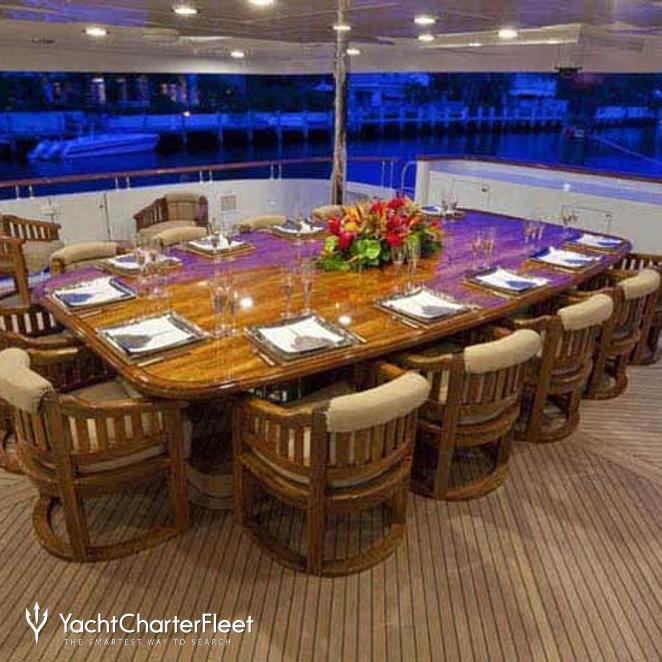 Main Aft Deck Dining