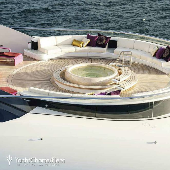 Jacuzzi On The Aft Deck