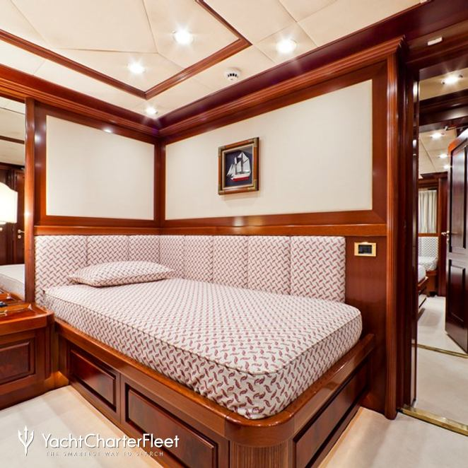 Red Twin Stateroom