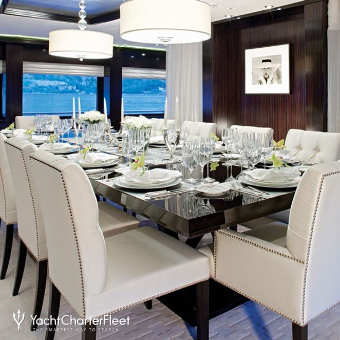 Dining Salon - Evening
