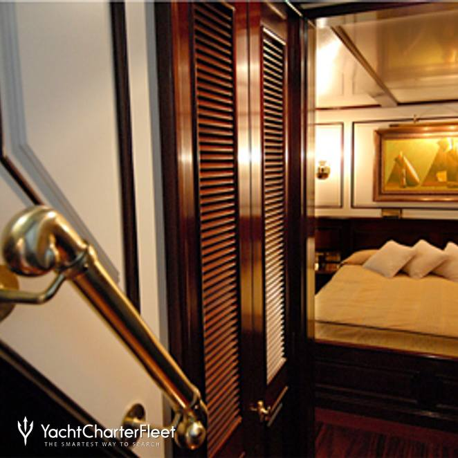 Stairs to Master Stateroom