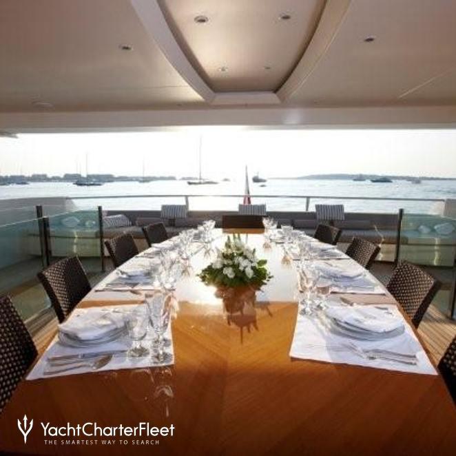 Dining on Upper Deck