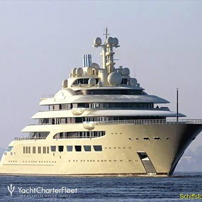 DILBAR Yacht (ex. Project Omar) Photos - Lurssen