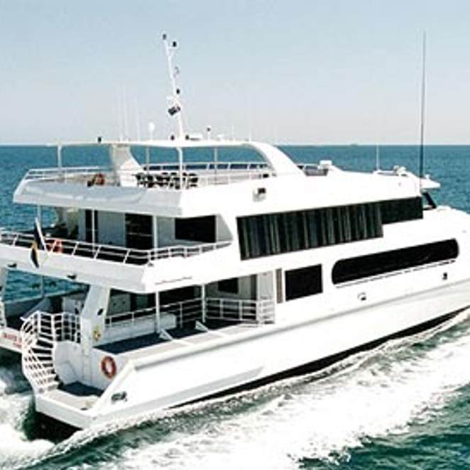 Custom Power Catamaran photo 2