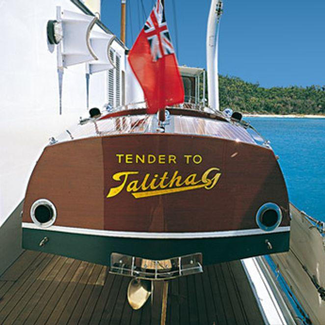 Tender - Stern