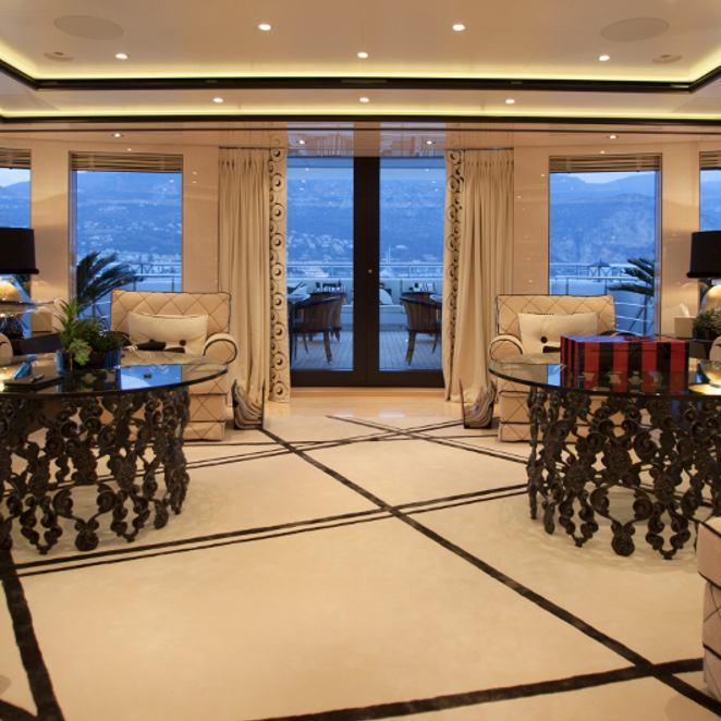 Bridge deck lounge