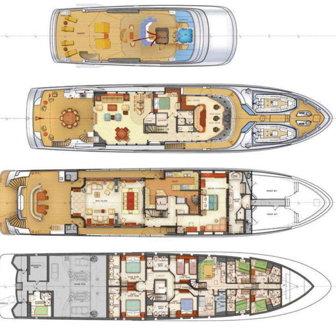 PiscesDeck plan layouts photo 17