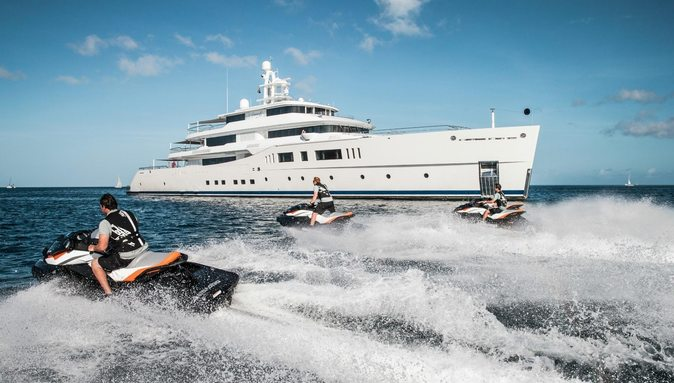 M/Y 'Grace E' Signs Up To Miami Yacht Show 2018