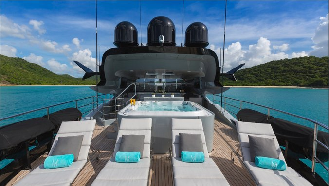 M/Y'Grey Matters' Offers Special Winter Charter Rate