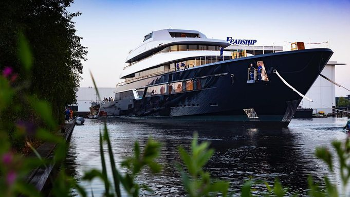 Feadship launches M/Y LONIAN: the latest Dutch masterpiece