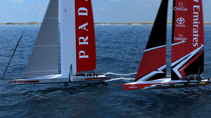 America's Cup Monohull Concept Unveiled
