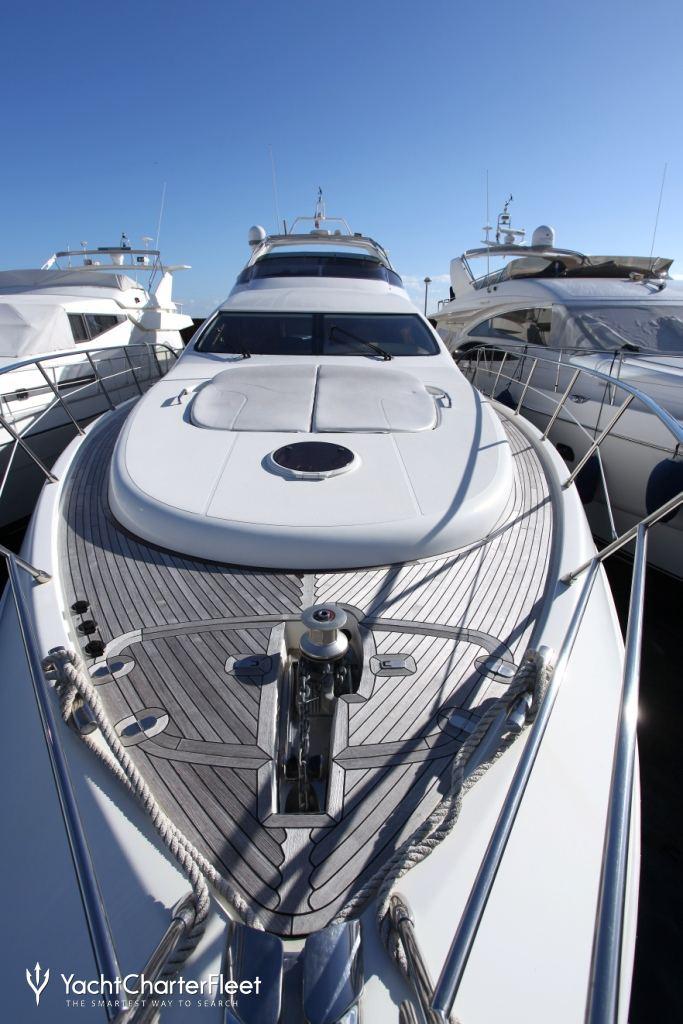 Luxury Yacht Engine Room: PRINCESS SISSI Yacht Charter Price