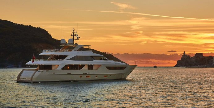 Takara One yacht charter Sanlorenzo Motor Yacht