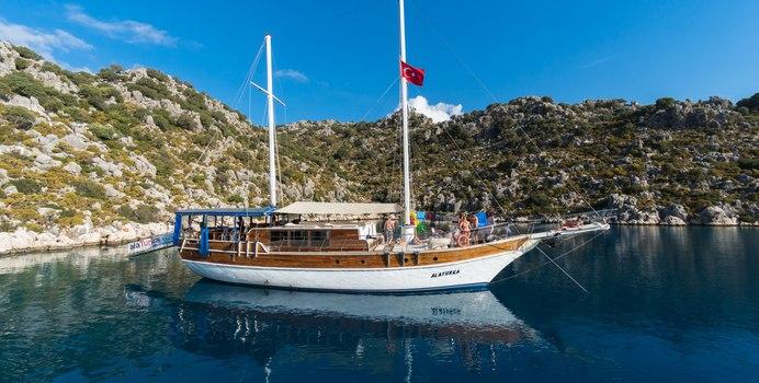 Alaturka 1 yacht charter Custom Motor/Sailer Yacht