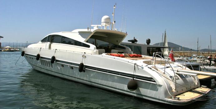 Disco Volante yacht charter Leopard Motor Yacht