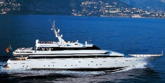 Costa Magna yacht charter Turquoise Motor Yacht