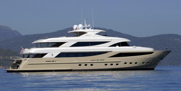 Steel Yacht Charter in Greece