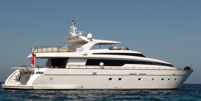 Fifth Avenue yacht charter Sanlorenzo Motor Yacht