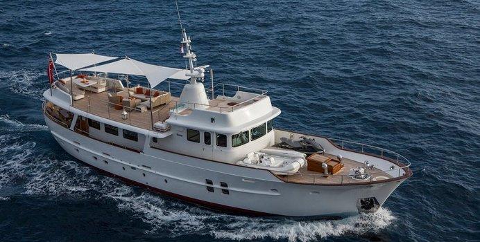 Sultana yacht charter Feadship Motor Yacht