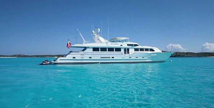 Exit Strategy yacht charter Broward Motor Yacht