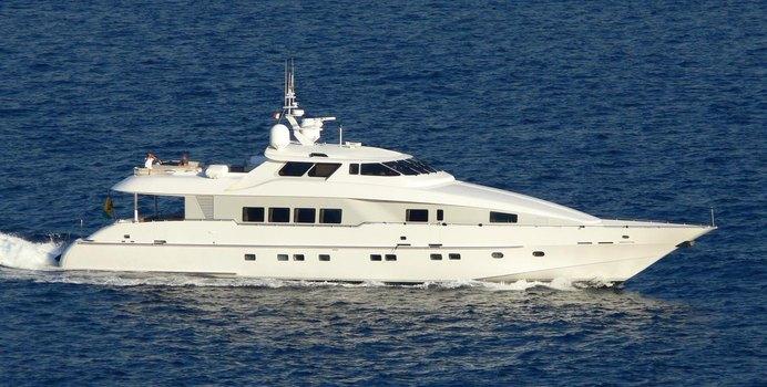 Sun Ark charter yacht interior designed by Art Line & Luiz de Basto Designs