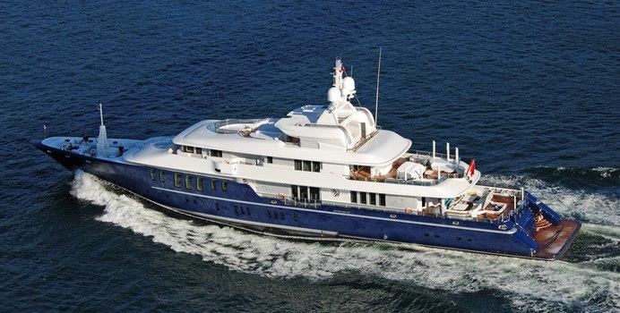 Triple Seven Yacht Charter in St Tropez