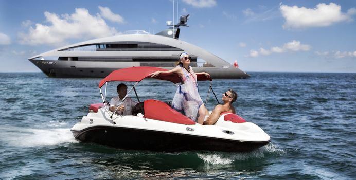 Ocean Emerald yacht charter Rodriquez Yachts Motor Yacht