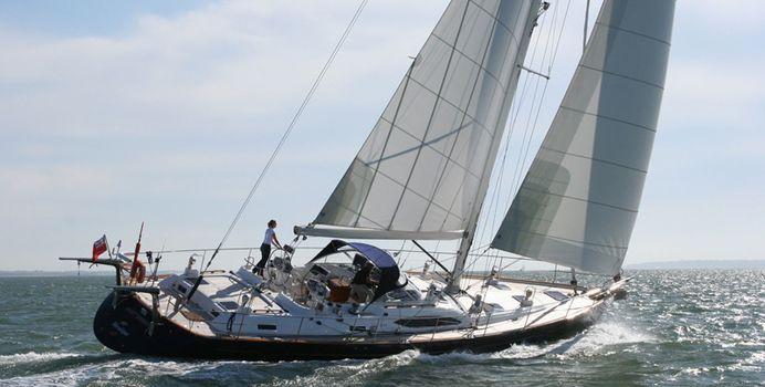 Mustique yacht charter VT Shipbuilding Sail Yacht