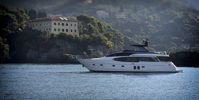EM3 yacht charter Sanlorenzo Motor Yacht