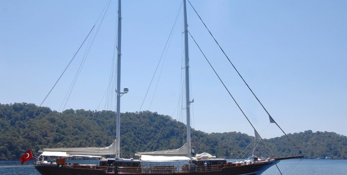 Mare Nostrum yacht charter Kadir Turhan Sail Yacht