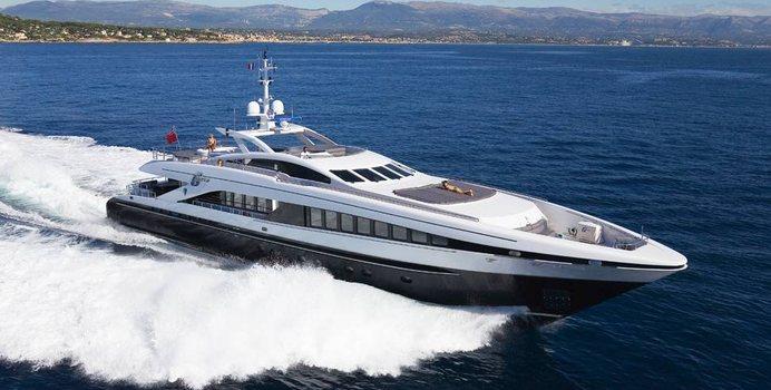 G Force yacht charter Heesen Motor Yacht