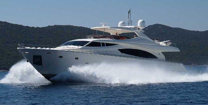 Tugarka yacht charter Ferretti Yachts Motor Yacht