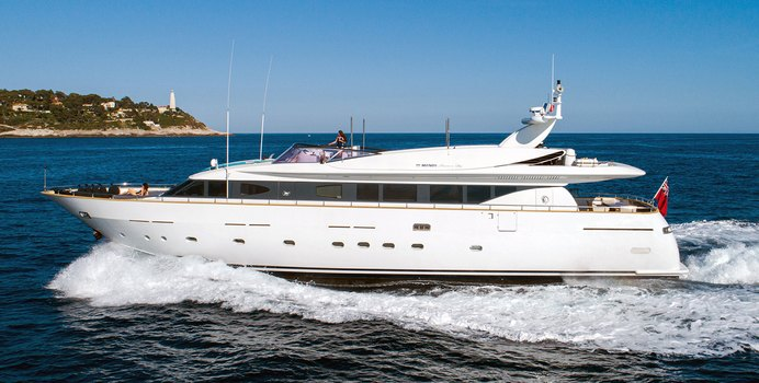 Talila yacht charter Mondo Marine Motor Yacht