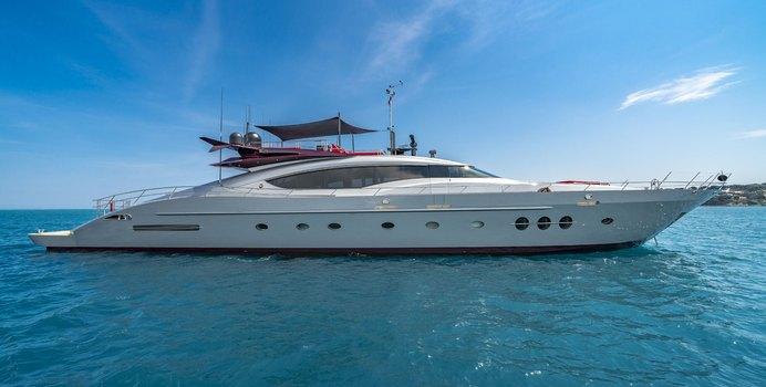 Kjos charter yacht exterior designed by Nuvolari Lenard