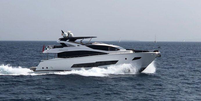 Stardust of Poole yacht charter Sunseeker Motor Yacht