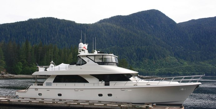 Sea Venture yacht charter Ocean Alexander Motor Yacht